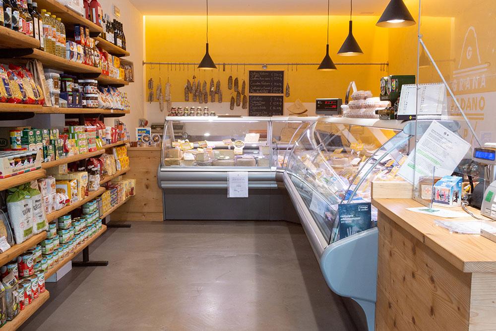 negozio caseificio boldini